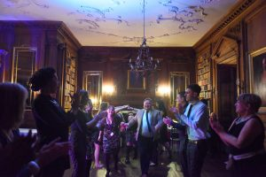 Ceilidh dancing at Gilmerton House