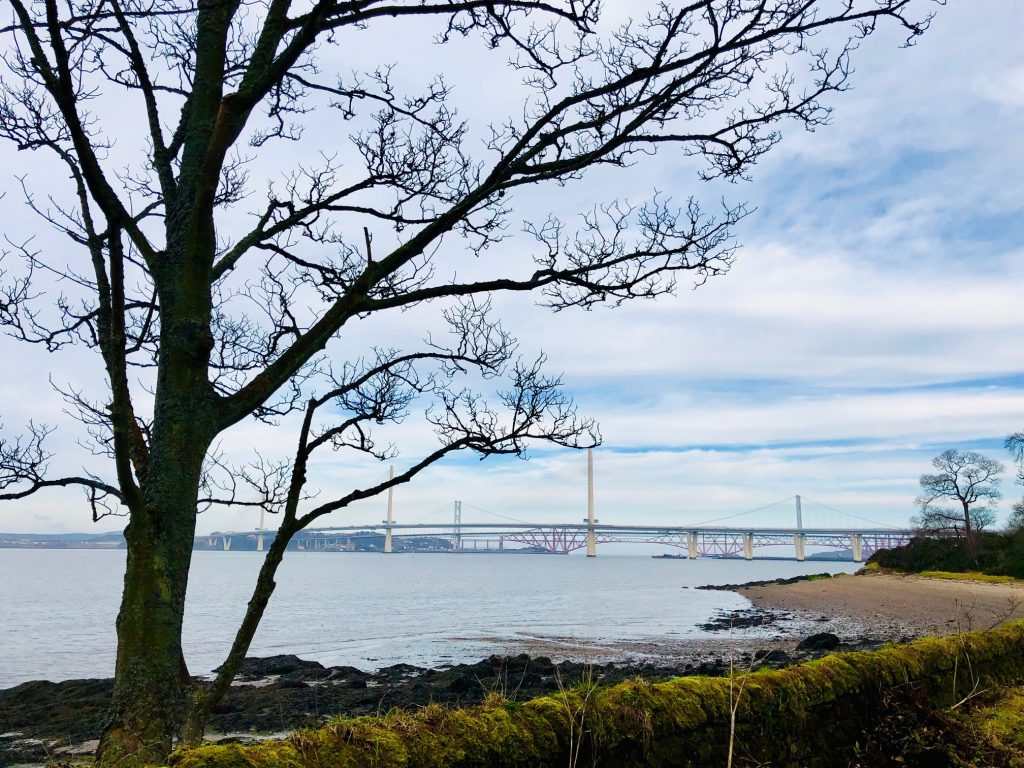 View to the forth from Hopetoun house