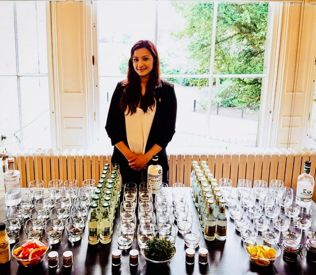 Scottish Gin tasting experience