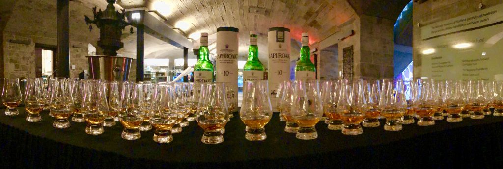 Conference whisky tasting