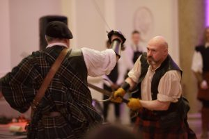 scottish warriors fighting entertainment conference