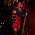 Roddy piping on stage in Las Vegas